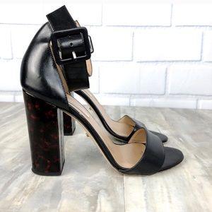 Diane Von Furstenberg Tortoise Heel Shoes 9.5
